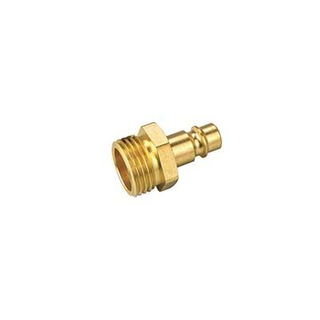 Male Plug Pneumatic Connector Brass Pipe Plug