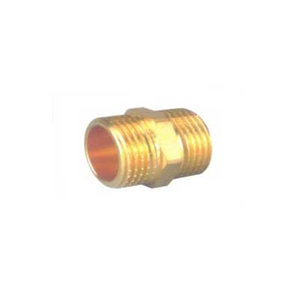 Brass Adaptor Male x Male Thread Hexagon Nipple China Manufacture